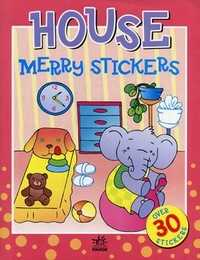 Merry stickers. House. Over 30 stickers, , 2007