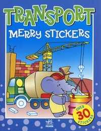 Merry stickers. Transport. Over 30 stickers, , 2007