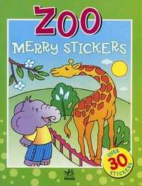 Merry stickers. Zoo. Over 30 stickers, , 2007