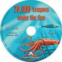 Audio CD. 20,000 Leagues Under the Sea, , 0000