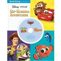 3-in-1 Read-Along Storybook: Disney & Pixar Rip-Roaring Adventures (+ Audio CD), , 2010